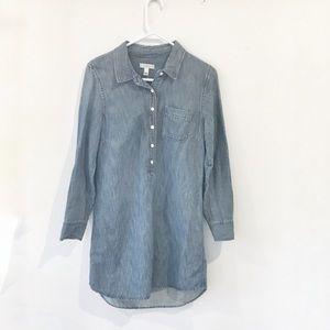 J. Crew Denim Shirtdress